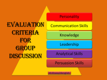 Top Six Evaluation Criteria for Group Discussion